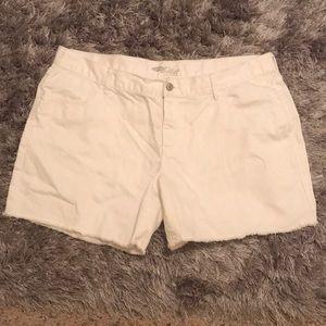 Old Navy White Shorts